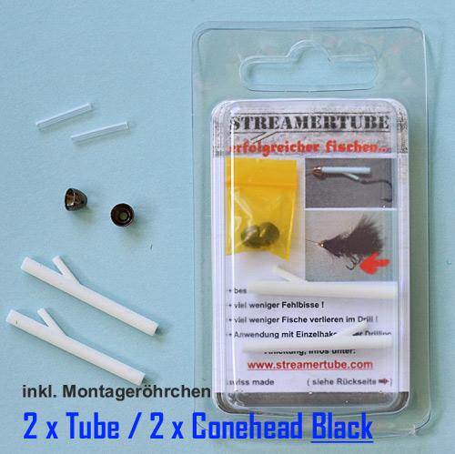 Streamertube-Tubesystem Black